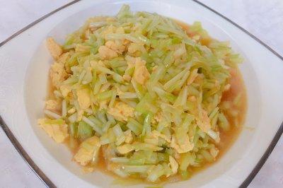 韭黃炒雞蛋