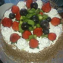 草莓戚风蛋糕