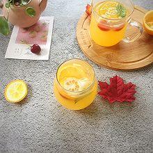 #夏日冰品不能少#冰镇橙汁柠檬饮
