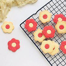 #520,美食撩动TA的心!#花朵饼干
