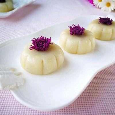 奶酪紫薯小点