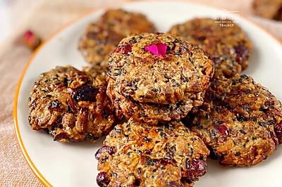 红糖蔓越莓燕麦饼干