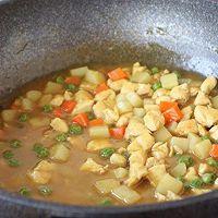 #晒出你的团圆大餐# 咖喱鸡丁土豆饭的做法图解16