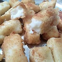 炸鲜奶-附面包糠做法