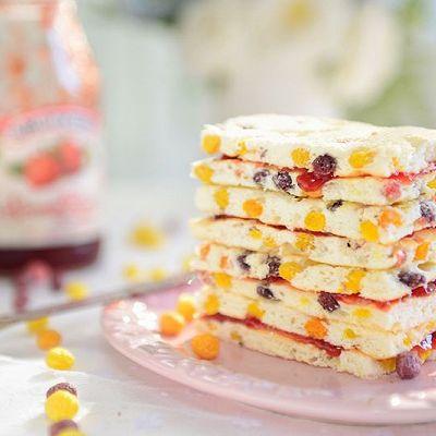 童趣甜点-麦麦球天使夹馅蛋糕(独创)