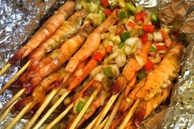 偏爱烧烤味的串串虾之烤箱版