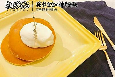 宝宝辅食芋泥松饼