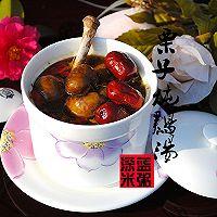 栗子炖鸡汤——月子汤品的做法图解8