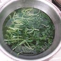 #花10分钟,做一道菜!# 蒜香鸡毛菜的做法图解2