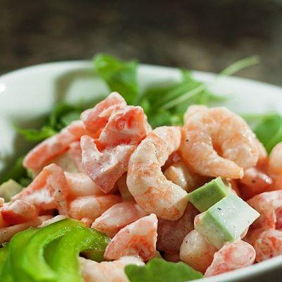曼步厨房 - 鲜虾沙拉