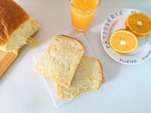 橙香吐司的做法