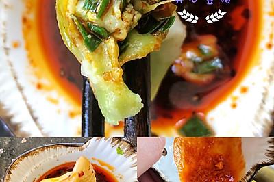 鲜味十足的韭菜虾仁鸡蛋饺子