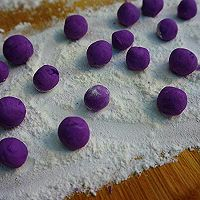 紫薯汤圆酒酿羹的做法图解6