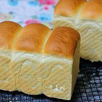 中种法奶香吐司面包 吐司又高又细腻绵软的秘密 珍藏的黄金配方