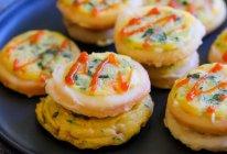 鱿鱼蔬菜饼 宝宝辅食食谱的做法