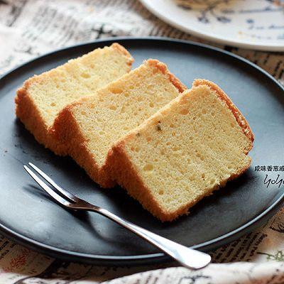 香葱咸味戚风蛋糕