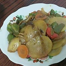 蚝油土豆片