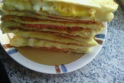 超简单美味三明治