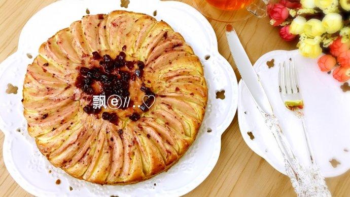 蓝莓苹果磅蛋糕