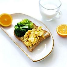 开放式三明治(快手早餐)