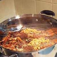 用帅气的-龙虾清理方法做美味的-蒜茸开背蒸龙虾的做法图解7