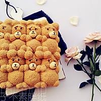 萌你一脸的泰迪熊挤挤面包的做法图解17
