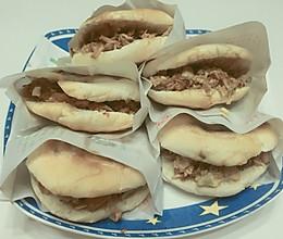 白吉馍夹肉的做法