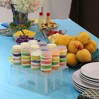 彩虹推推乐蛋糕筒的做法图解13