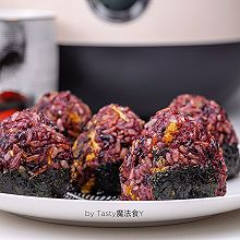 海苔肉松杂粮饭团#父亲节,给老爸做道菜#