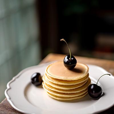 经典美式早餐,松饼(Pancake)