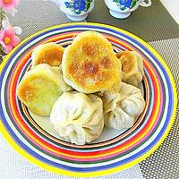 青椒猪肉水煎包——利仁电火锅试用菜谱