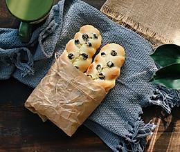 蓝莓奶酥辫子面包的做法