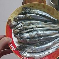大月的多春鱼的做法图解3