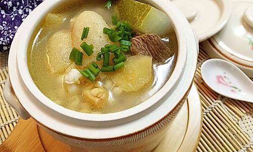 野生竹荪老鸭冬瓜汤的做法