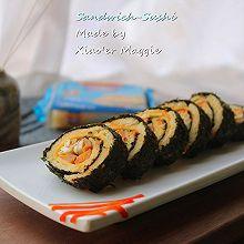 #百吉福食尚达人#三明治寿司