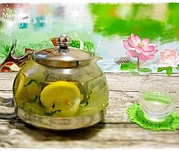 清凉夏日--------柠檬苏打水的做法