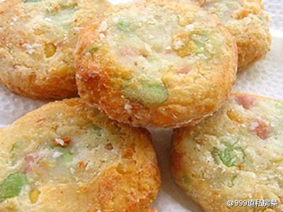 清新田园土豆饼