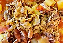 #助力高考营养餐#番茄土豆肥牛卷的做法