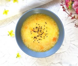 #秀出你的早餐#小米南瓜粥的做法