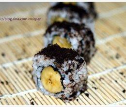 香蕉寿司的做法