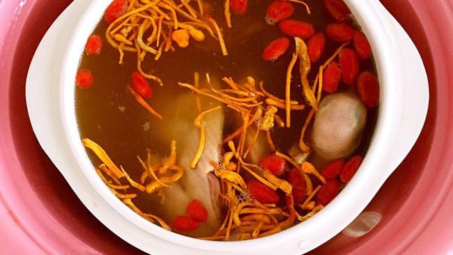 虫草花鸽子汤的做法