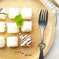 椰蓉牛奶小方的做法图解10