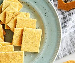 #全电厨王料理挑战赛热力开战!# 芝麻瓦片薄脆饼的做法