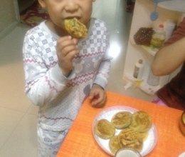 红糖芝麻油酥饼的做法