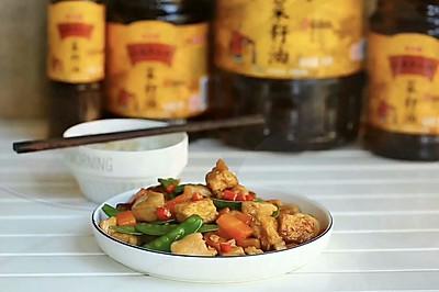 红烧鸡丁豆腐