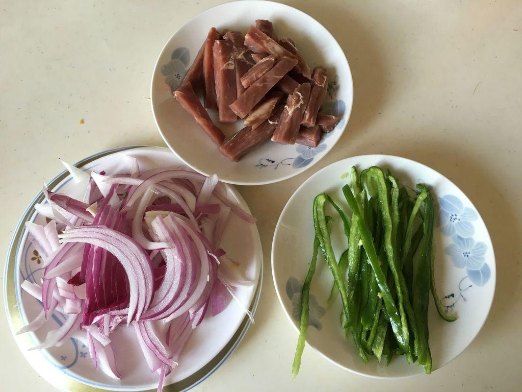 樱花牛肉味道炒水饺#黑椒图片猪肉胡萝卜洋葱青椒大全图片