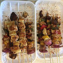 彩蔬鸡肉串