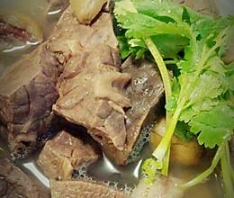 橄榄猪肺汤(秋冬超级润肺哦)的做法