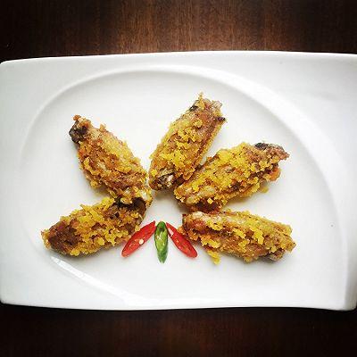 微波炉香酥鸡翅