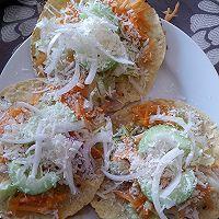 墨西哥玉米饼沙拉  taco tostadas的做法图解5